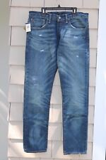 NWT-$185 Polo Ralph Lauren Sullivan Slim Reeve Straight Leg Jeans Size 32 x 34