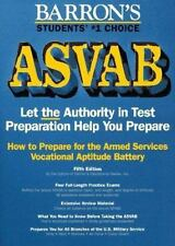 How to Prepare for the Asvab, Armed Services Vocational Aptitude Battery (Barro