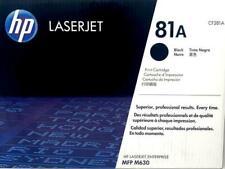 HP 81A Black Original LaserJet Toner Cartridge (CF281A) Genuine HP