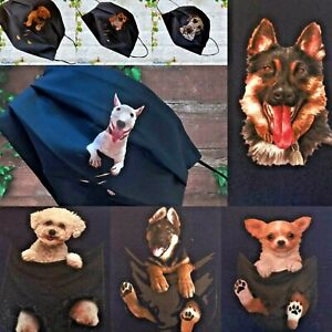 NAVY Face Mask Double Layer Dogs BULL DOG Staffy Dogue GERMAN SHEP POSTED 24HR