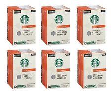 Starbucks Medium Roast Coffee K-Cup Pods Essential Vitamins 60 Count BBD 11/20