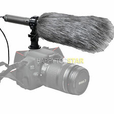 SG-209 Stereo Microphone Windcutter for Nikon D5 D4 D810A Canon EOS 5DS R 80D 5D