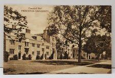 "Princeton University ""CAMPBELL HALL"" Vintage Postcard C19"