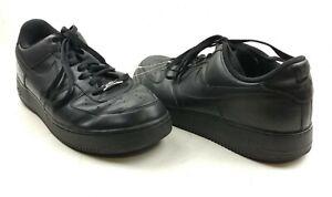 Nike Men's Air Force 1 '07 'Black' Sneaker Size 11