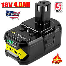 Ryobi power tools ebay new 40ah 18v li ion p108 battery for ryobi one plus rb18l25 rb18l50 p107 fandeluxe Image collections