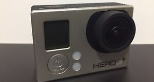 GOPRO HERO 3+PLUS SILVER CAMERA W/BATTERY & USB CABLE WIFI DOES NOT WORK
