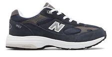 New balance unisex Kid's 993V1 Big Kids Zapatos entresuela IMEVA Azul Marino Con Blanco