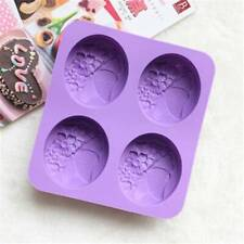 Cake Mold Silicone Butterfly Flower Mold Handmade Soap Mold Candy Supply G