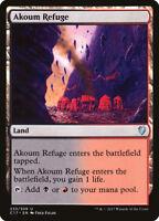 MTG Magic - (U) Commander 2017 - Akoum Refuge - NM/M