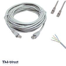 60M Metre CAT 5e Ethernet Network RJ45 Patch Lead Cable