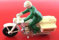 Matchbox Superfast No: 33 C Honda 750 Police Motorcycle Motorrad 1977 grün weiß