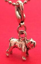 3 D Pit Bull Terrier Dog Breed Lovers Clip On Charm