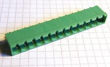 3x Leiterplattensteckverbinder 13-polig male Raster 5,08mm, Typ Sauro CIM130P5