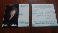 HAYDN WALID AKL BOX No7 9 SONATAS MENUETS TRIOS BOURG 2CD SET INCOMPLETE ARTWORK