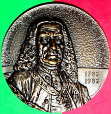 MARQUESE OF POMBAL 1782-1082 / CENTENARY OF HIS DEATH / BRONZE MEDAL BY A. V.