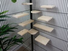 Mixed 10 Pack pine Shelves/Ledges, Chinchilla, Degu, Rat, Hamster Cage