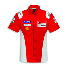Ducati Alpinestars Corse GP18 Replica Shirt Shirt Moto Gp Dovizioso Lorenzo New