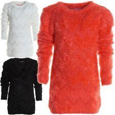 Freizeit Mädchen-Pullover aus Mischgewebe
