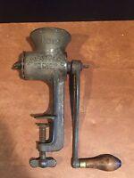 Antique Vintage Griswold's Erie No. 12 Cast Iron Meat Grinder
