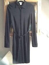 Laura Clement black shirtdress UK 10