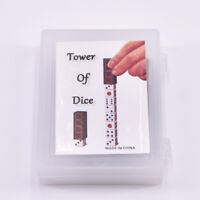Tower of Dice Magic Tricks For Magician Close Up Illusion Gimmick Props Comedy