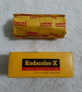 2 Vintage Rolls Kodak CX 120 Color Print Film NIB Expired
