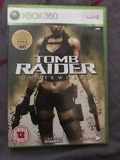 jeux xbox 360 Tomb Raider Underworld