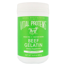 NEW VITAL PROTEINS BEEF GELATIN KOSHER UNFLAVORED GLUTEN FREE NATURAL NUTRITION