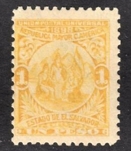 El Salvador Scott 188  Fine mint OG LH reprint. Free ship for any add...