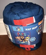 Paw Patrol Toddler Blue Nap Mat All in One Pillow Included New