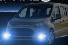 Non-Halo Fog Lights Kit for 2010 - 2018 Ford Transit Connect