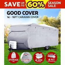 14-16ft Caravan Cover Campervan 4 Layer Heavy Duty UV Carry bag Waterproof