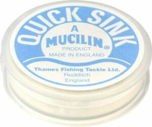 Fly Fishing:  MUCILIN QUICK SINK  LINE LEADER / FLY SINKANT