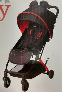 Disney Teeny Ultra Compact Stroller Let's Go Mickey Red & Black