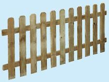 Staccionata steccato bordure recinzione legno impregnato LASA Classic