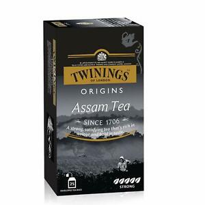 Twinings Assam Tea, Premium Black Tea, Twinings Origins, Strong,Full-bodied