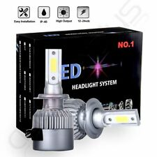 1500W 225000LM CREE LED Headlight Kit H7 6000K White High Power Bulbs One Pair