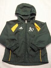Oakland A's Athletics MLB 24 Months Adidas Windbreaker Nylon  Jacket