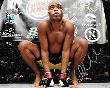 UFC Fighter Anderson Silva Autographed 8x10 Photo (Reproduction)  2
