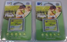 (2) Twin MOS 1 GB Compact Flash Cards