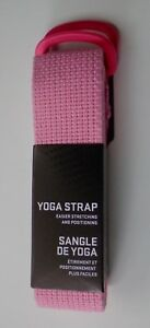 Nike Yoga Strap with Buckles Pink/White Durable