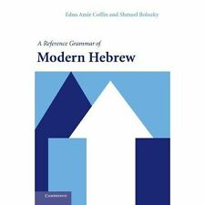A Reference Grammar of Modern Hebrew, Bolozky, Shmuel, Coffin, Edna Amir, Accept