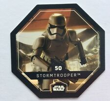 STAR WARS Jeton 50 STORMTROOPER Cosmic Shells THE FORCE AWAKENS Collector Image