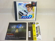 PS1  INITIAL D The Best with SPINE CARD * Playstation PS Japan Game p1