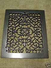 Vintage 1800s Cast Iron Register Grate Antique Grates