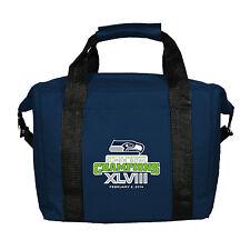 Seattle Seahawks NFL 2014 Super Bowl XLVIII 48 Champions 12-Pack Cooler Bag