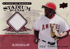 08 UD HISTORY VLADIMIR GUERRERO ANGELS GAME USED JERSEY