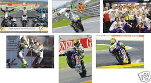 Valentino Rossi Motogp 2009 Champion POSTCARD Set