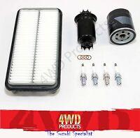 Filter & Spark Plug Service kit - Suzuki Vitara 5Dr LWB G16B (91-10/94)