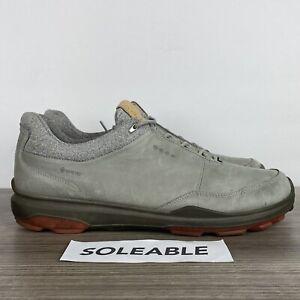ECCO Biom Hybrid 3 Gortex Yak Leather Spikeless Golf Shoe Men's Size EU 46 US 12